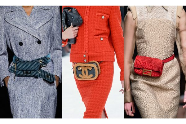 Модные поясные сумки сезонов осень-зима 2019