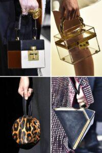 Модные кубические сумки сезона осень-зима 2019