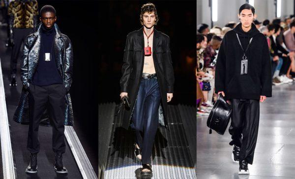 Мужские сумки, мода осени 2019