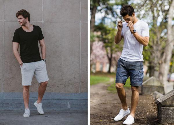 мужские кроссовки белого цвета - модный тренд осени 2019